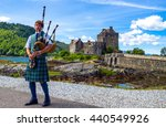 lochash   scotland    june 20 ... | Shutterstock . vector #440549926