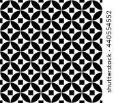 arabic monochrome pattern with... | Shutterstock .eps vector #440554552