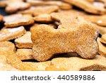 large batch of bone shaped... | Shutterstock . vector #440589886
