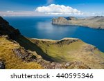 panoramic view over the... | Shutterstock . vector #440595346