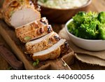 Barbecued Turkey Breast With...
