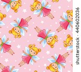 vector seamless illustration of ... | Shutterstock .eps vector #440602036