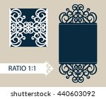 the layout of the cards in... | Shutterstock .eps vector #440603092