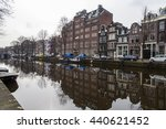 amsterdam  netherlands on march ... | Shutterstock . vector #440621452