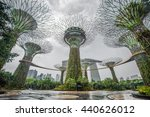 gardens by the bay and marina...   Shutterstock . vector #440626012