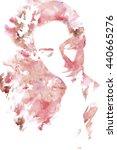 woman portrait .abstract...   Shutterstock . vector #440665276