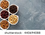 Variety Of Nuts And Dried...