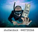 Businessman Lured By Money