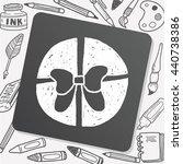 doodle gift | Shutterstock .eps vector #440738386
