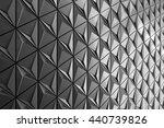 black and white presentation of ...   Shutterstock . vector #440739826