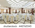 wedding hall or other function... | Shutterstock . vector #440765545