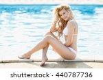 Beautiful Young Blonde Woman I...