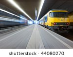 trying to catch a departing... | Shutterstock . vector #44080270