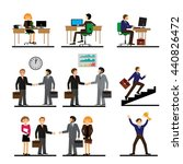 business people group human... | Shutterstock .eps vector #440826472