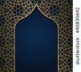 traditional ornamental... | Shutterstock .eps vector #440830642