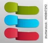 vector banners set. | Shutterstock .eps vector #440847292