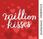 love romantic valentine day... | Shutterstock .eps vector #440849215