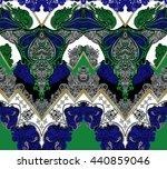 seamless ethnic pattern   Shutterstock . vector #440859046