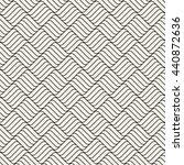 vector seamless pattern. modern ... | Shutterstock .eps vector #440872636