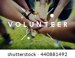 Small photo of Volunteer Aid Charity Support Volunteering Concept