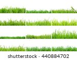 collection of grass in high... | Shutterstock . vector #440884702
