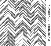 seamless chaotic zig zag... | Shutterstock .eps vector #440885242
