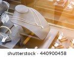 jewelry diamond shop store... | Shutterstock . vector #440900458