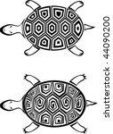 turtle | Shutterstock .eps vector #44090200