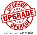 upgrade. stamp   Shutterstock .eps vector #440905702