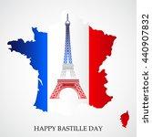 vector illustration of french... | Shutterstock .eps vector #440907832