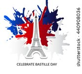 vector illustration of french... | Shutterstock .eps vector #440908036