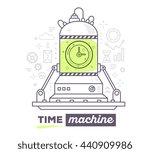 vector illustration of creative ... | Shutterstock .eps vector #440909986