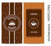 set of coffee house menu card...   Shutterstock .eps vector #440911966