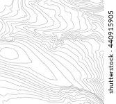 topographic map background... | Shutterstock .eps vector #440915905