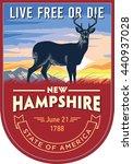 New Hampshire State Emblem ...