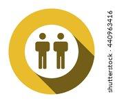 people   icon  vector... | Shutterstock .eps vector #440963416