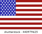 usa flag background. web banner | Shutterstock .eps vector #440979625