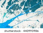 hand painted abstract grunge... | Shutterstock . vector #440993986