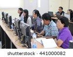 june 18  2016   teachers study...   Shutterstock . vector #441000082