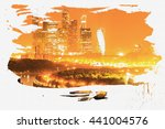 Постер, плакат: Moscow panorama skyline Moscow