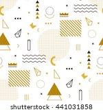 raster image geometric gold... | Shutterstock . vector #441031858