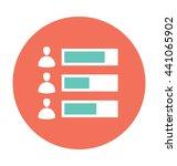 analytics vector icon | Shutterstock .eps vector #441065902