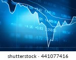 stock market chart which