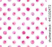 watercolor seamless pattern... | Shutterstock . vector #441102472