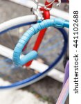 blue handlebar san sebastian | Shutterstock . vector #441102688