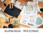 editor at work   Shutterstock . vector #441113662