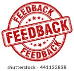 feedback. stamp | Shutterstock .eps vector #441132838