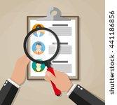 human resources management... | Shutterstock .eps vector #441186856
