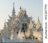 wat rong khun  aka the white... | Shutterstock . vector #441187795
