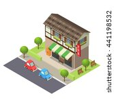 vector isometric icon or... | Shutterstock .eps vector #441198532